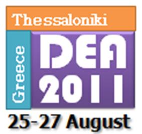 Διεθνή Συνέδρια σε DEA 9 th International Conference on Data Envelopment Analysis (DEA2011) University of Macedonia, Thessaloniki, Greece, August 25-27, 2011. http://www.deazone.