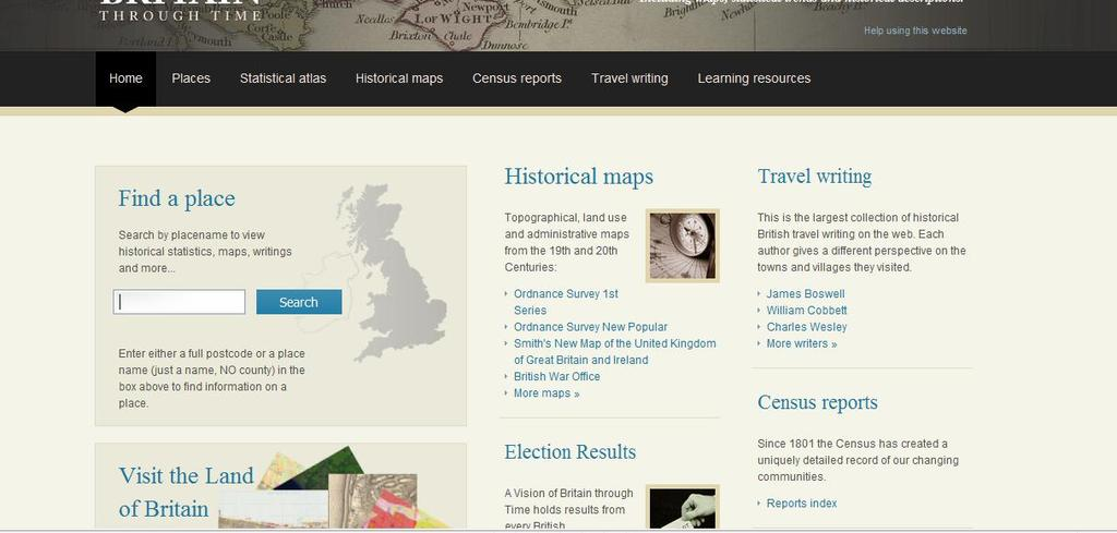 University of Portsmouth The Great Britain Historical GIS Project
