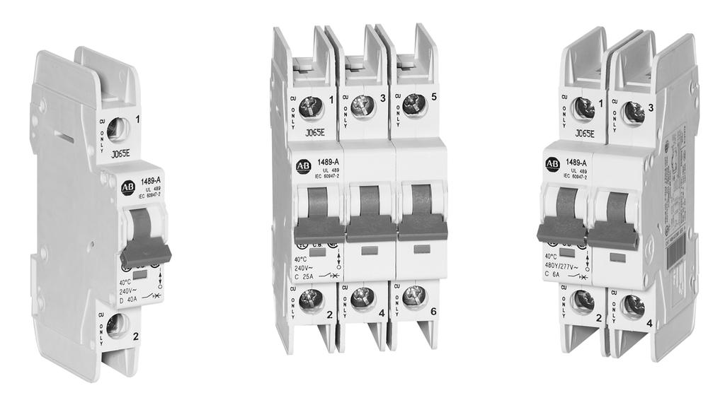 Bulletin 489 UL489 Circuit Breakers
