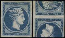 black printed on E 50 both sides. On reverse 1l. chocolate. (Konst. 5 ΔΟΚ.I.6). Lot. 5 10l.