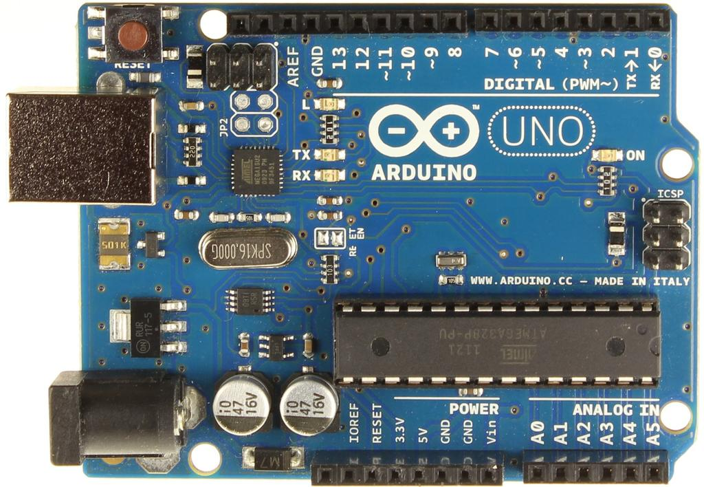 Η πλατφόρμα Arduino Microcontroller: ATmega328 Operating Voltage: 5V Digital I/O Pins: 14 (of which 6 provide PWM