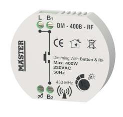 MULTI/LED 33200 DIMMER PROFESSIONAL 1-10V 31957 DIMMER PROFESSIONAL 2500W ΛΕΥΚΟ 31956 DIMMER