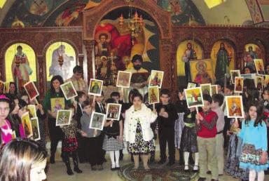 ICONOGRAPHY PROJECT UPDATE On Sunday, March 4th, the Sunday of Orthodoxy, our parish of Saint Spyridon launched the final phase of our church iconography.