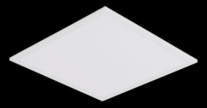 7 GoldLED-131 Panel Mio Recessed SMD Mid Power 4000-6500K 0,95 >80 Electrostatic powder coated metal 50.