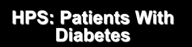 Residual CVD Risk With Statin Therapy: Standard Doses in Diabetes 30 HPS: Patients With Diabetes 16 CARDS (diabetes) Event Rate, % 25 20 15 10 5 25.1 20.