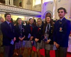MESSAGE FROM THE ASSISTANT PRINCIPAL Miss Stephanie Kosmetos Hellenic Presidential Guard On Thursday 20 th April, a group Year 12 student leaders were invited by the Honourable Tom Koutsantonis MP