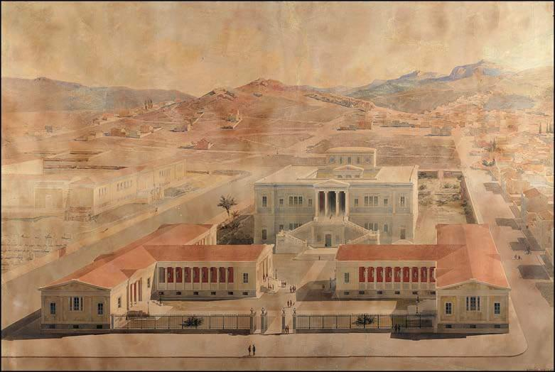 has been a pioneer in the higher education of Greek architects.