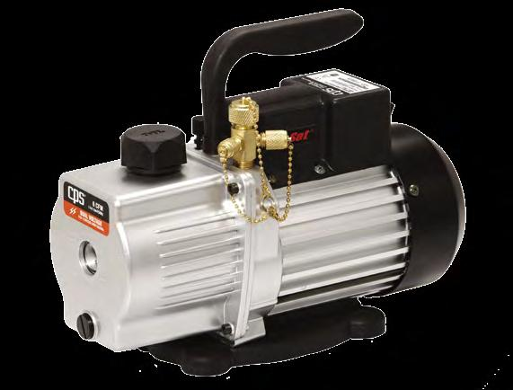 7kg Vacuum pump ECO-5 The most economical model. Two stage rotary vane pump design. Very quiet operation.