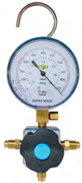 filled gauges. Masterpiece of design and technology. Suitable for: R22/410/134 Class: 1.