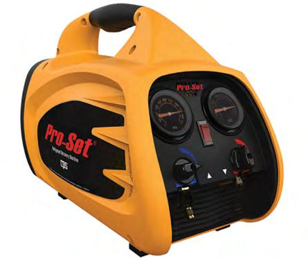 The 2-piston compressor ENVIRO-DUO is equipped with an 80% overfill-protection.