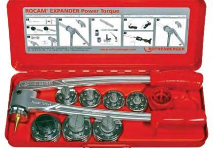 Set combines 3 clamps, tube cutter, and tube reamer in a carrying case. Origin: Japan HY-EX-6 Εκτονωτικό HY-EX-6 Υδραυλικό εκτονωτικό με 6 κεφαλές για να σωλήνες με εξωτ.