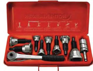 ) Expander tool kit HY-EX-6 Hydraulic Expander tool kit with 6 expander heads to cover all size tubes of 3/8, 1/2, 5/8, 3/4, 7/8,1 1/8 diameter.
