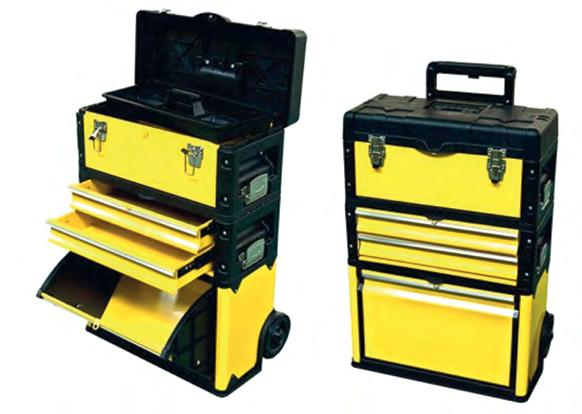 5x34.5x14cm Προέλευση: Ιταλία Toolbox CARGO 711N Ergonomic case with an organizer with various-sized compartments. Dimensions: 38.5x34.5x14cm