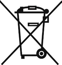 Disposal of old electrical and electronic equipment If you see this symbol on the product or on its packaging, you should hand the product over to the applicable collection point for the recycling of