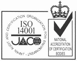 is certified with: ISO 9001 of AENOR, Spain for its Quality Management accordance with the standard ISO 14001 of AENOR Spain for its Environmental Management systems accordance with the standard.