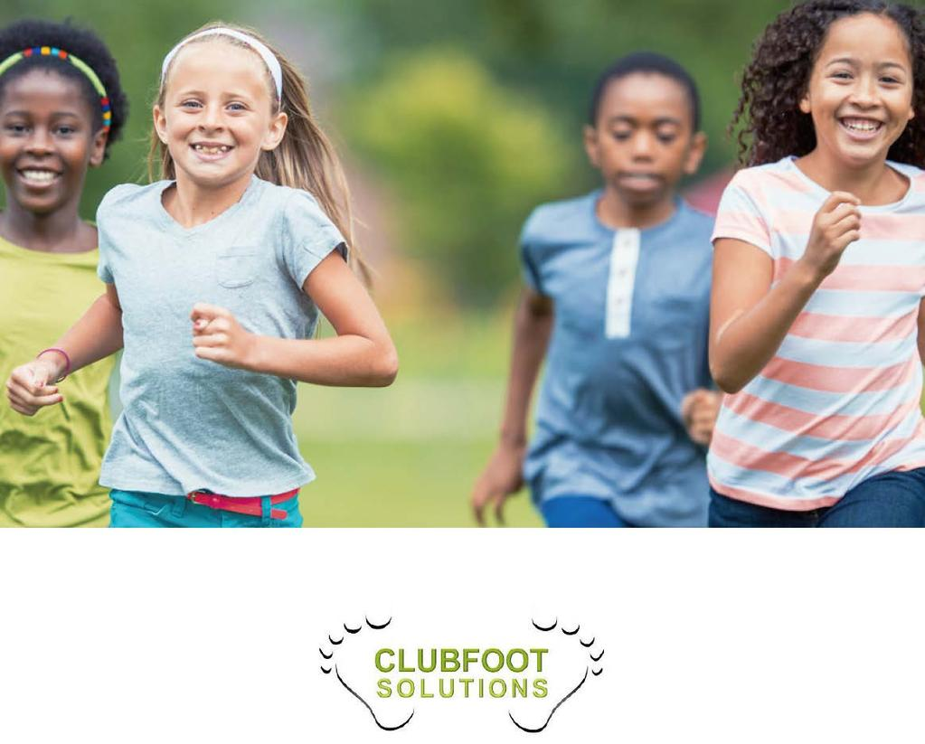 CLUBFOOT SOLUTIONS, INC. 2509 RIVER RUN CT.