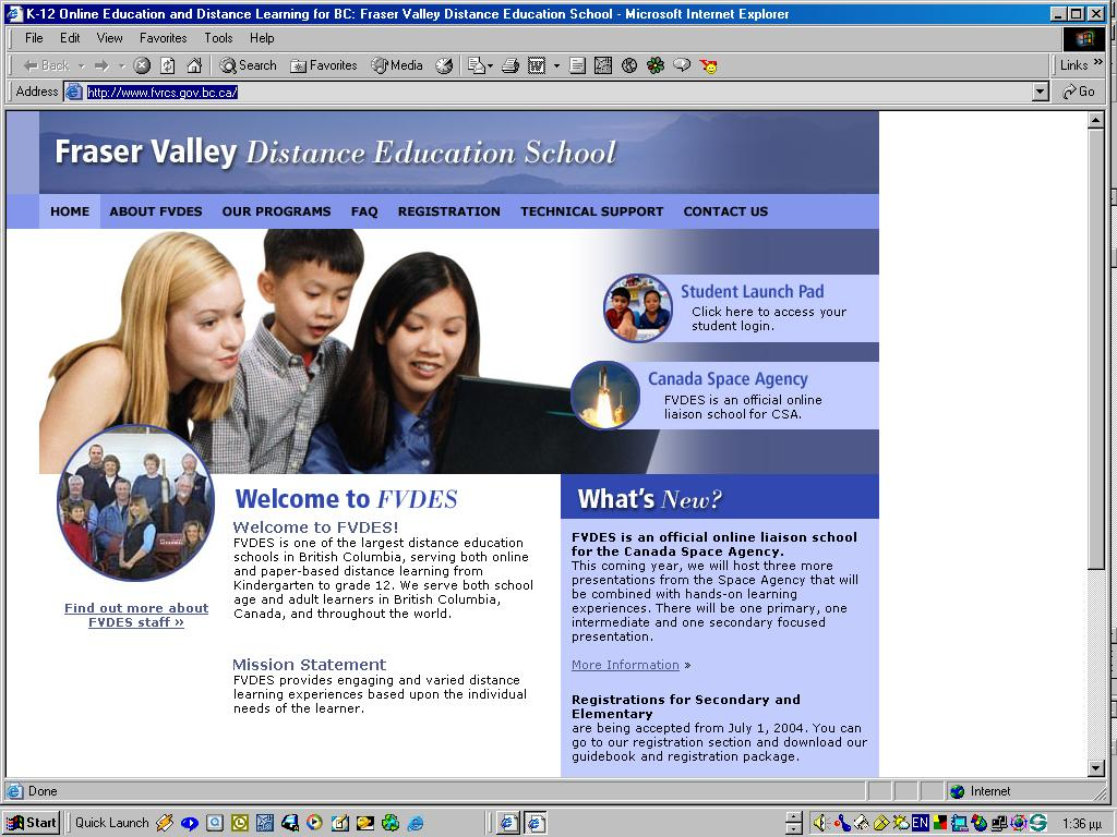 FRASER VALLEY Distance Education School http://www.