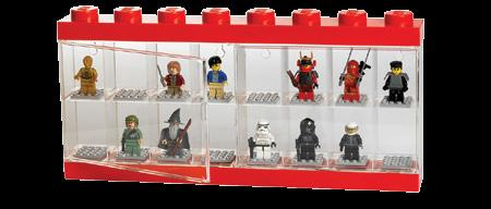 LEGO Mini Figure Case LEGO Mini Figure Case 16 Red Διάσταση: 47 x 382 x 184 mm ΚΩΔΙΚΟΣ: 299072 LEGO