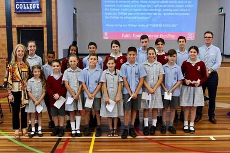 Student Leadership Induction Ceremony Friday 2 February 2018 Congratulations to all our student leaders for 2018 who were inducted into the student