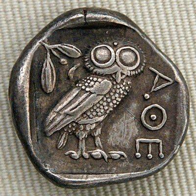 Ancient Currency 8 chalkoi = 1 obolus (approx. $4 USD) 6 oboloi = 1 drachma (approx.