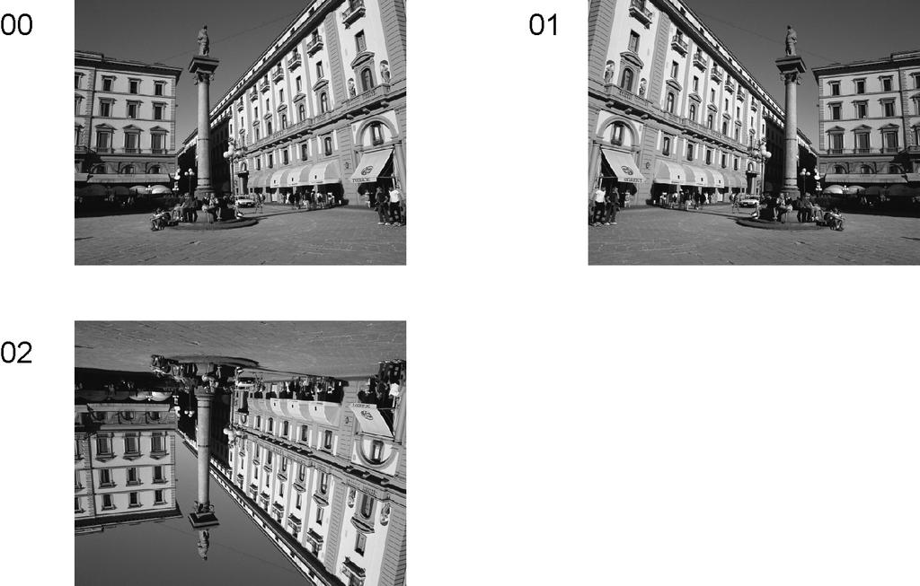.. Option - Mirror Picture can be reversed left and right or up and down. 00 : Default (Normal picture is displayed) 0 : Picture is reversed left and right. 0 : Picture is reversed up and down.
