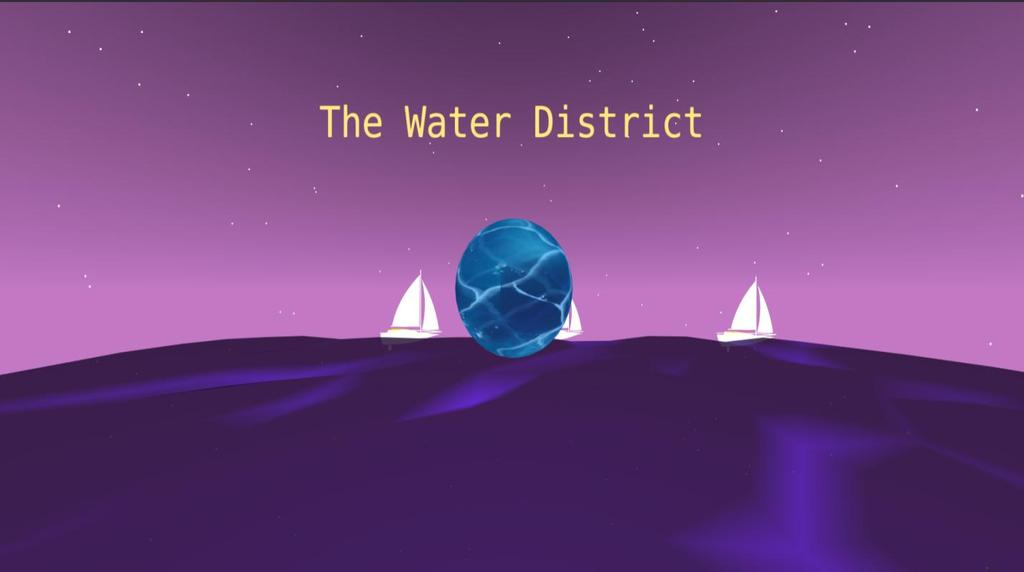 The Water District Figure 52: The Motion Hollow experience - The Water District, Arrival
