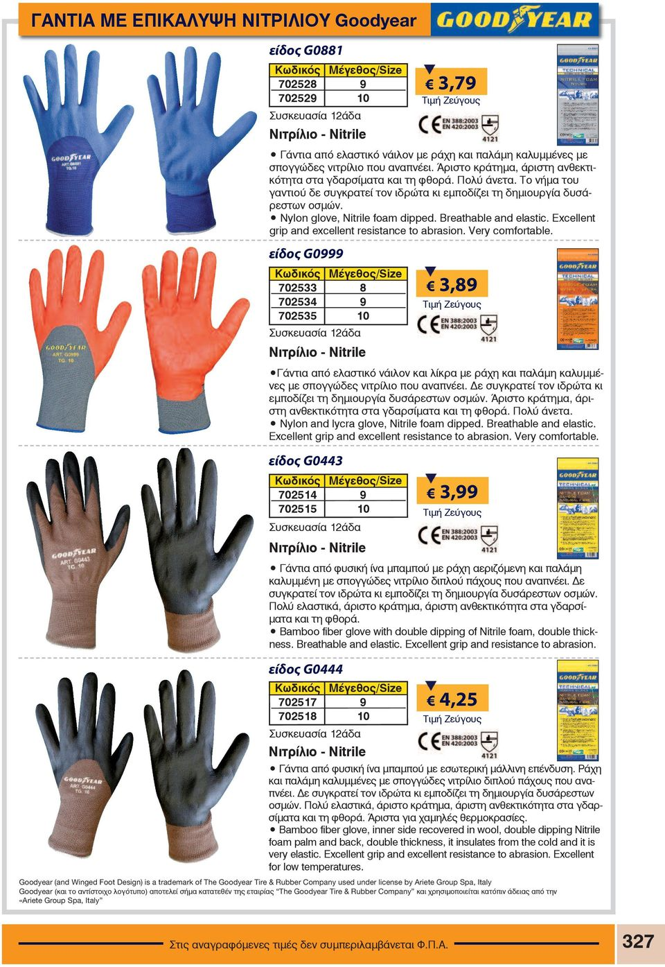 Breathable and elastic. Excellent grip and excellent resistance to  abrasion. Very comfortable. 190976aa1b1